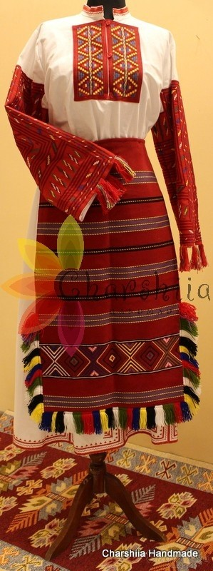 Bulgarian folk costume - Pirin women's folk costume