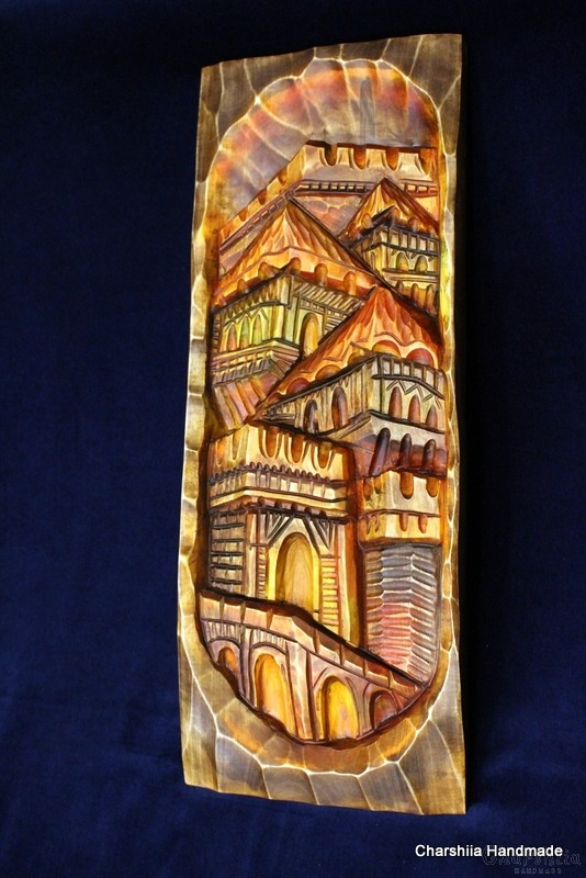 """Woodcarving """"Veliko Tarnovo"""""""