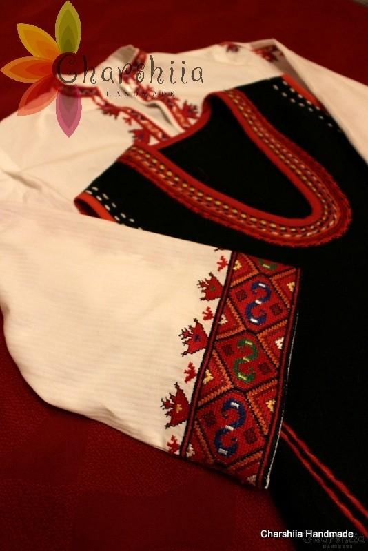 Bulgarian folk costume - Strandja women's folk costume