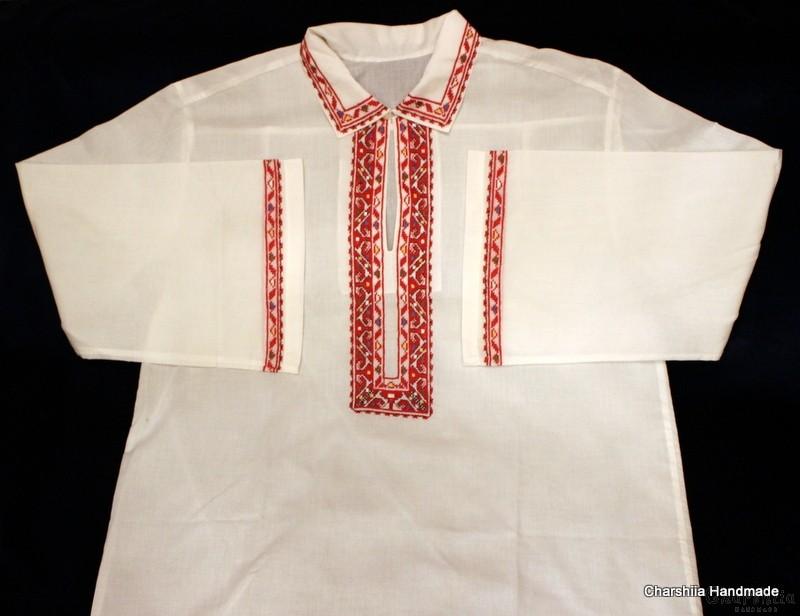 Men's shirt with Bulgarian