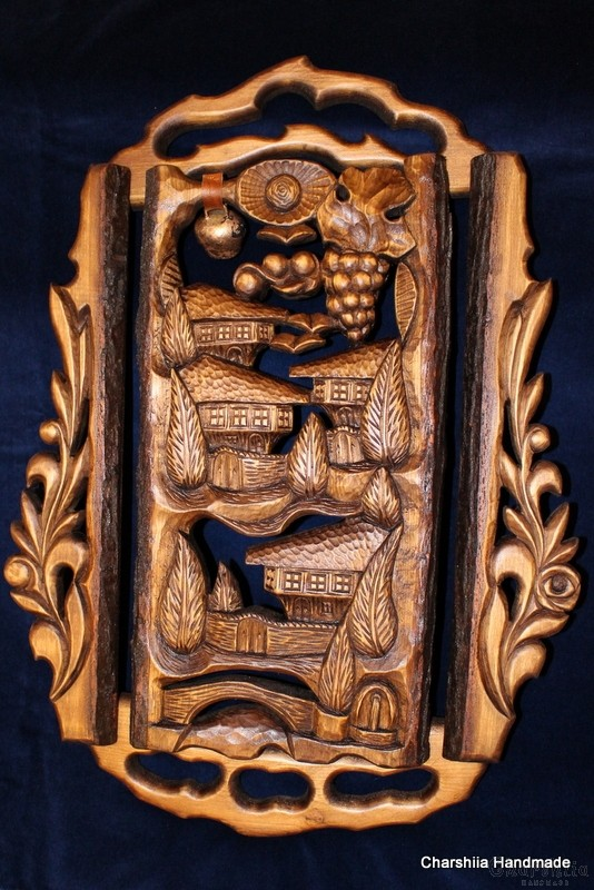 "Woodcarving ""Bulgarian house"" 1"