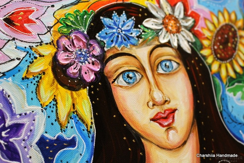 Painting ''Palm Sunday''