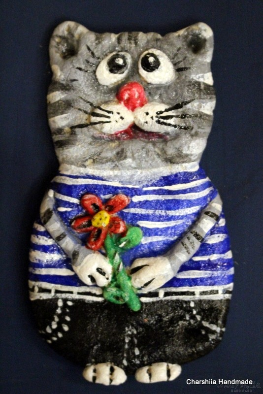Painting ''Ceramic cats""