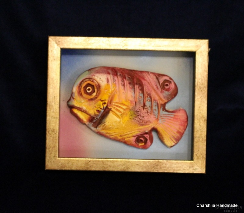 "Painting ''Ceramic fish"" 6"