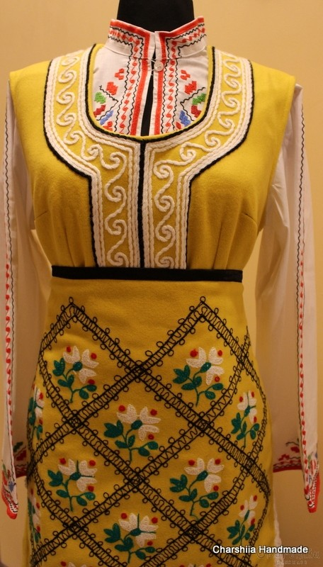 Bulgarian folk costume - Thracian women's folk costume