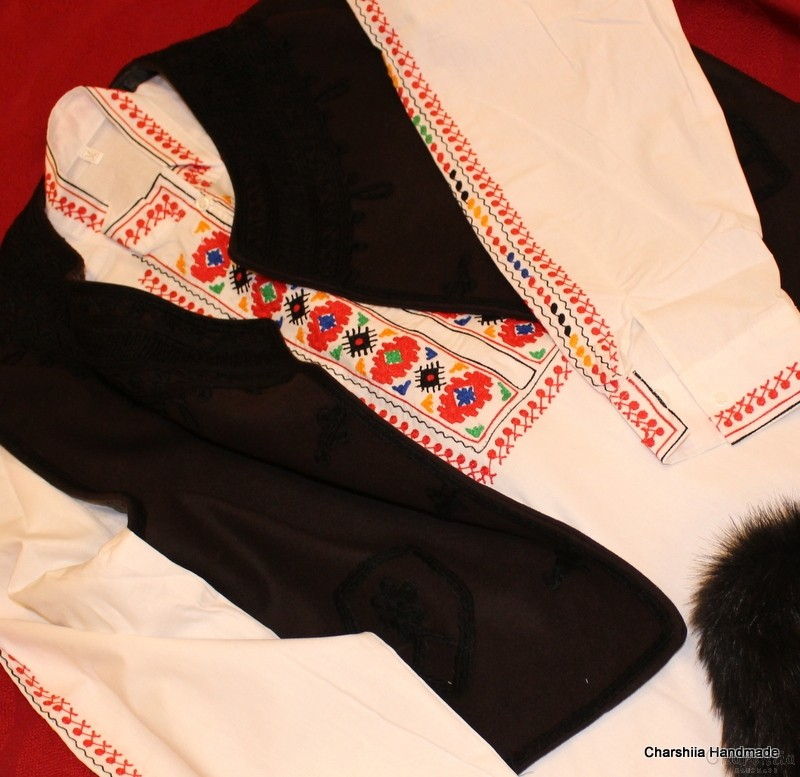 Bulgarian folk costume - Thracian men's folk costume
