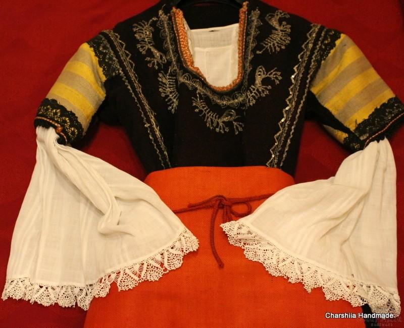 Old Bulgarian folk costume