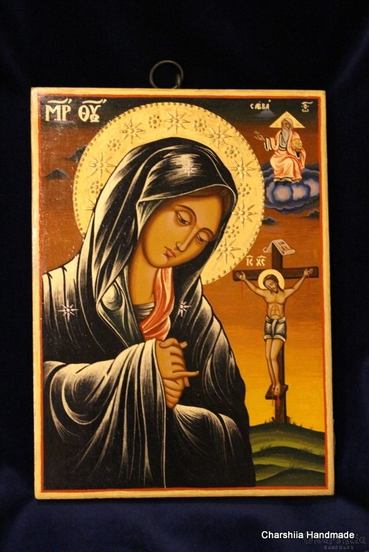 Icon image of Virgin Mary - Suffering