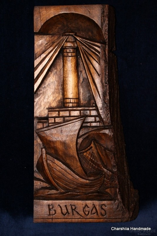 "Woodcarving ""Sea Bourgas"" 2"