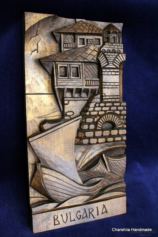 "Woodcarving ""Sea Bulgaria"""