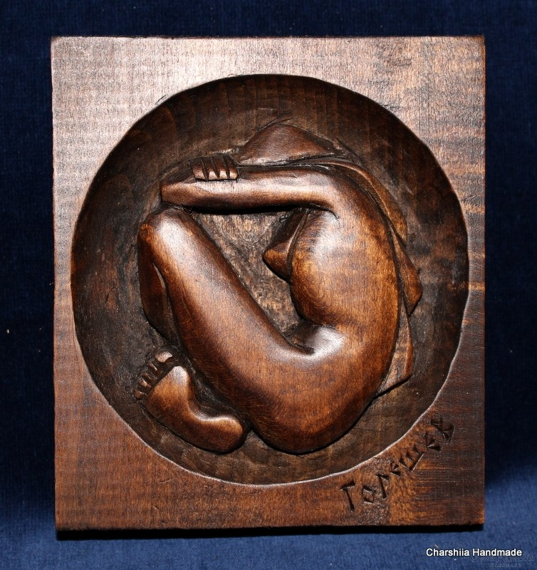 """Woodcarving """"Metamorphosis"""""""