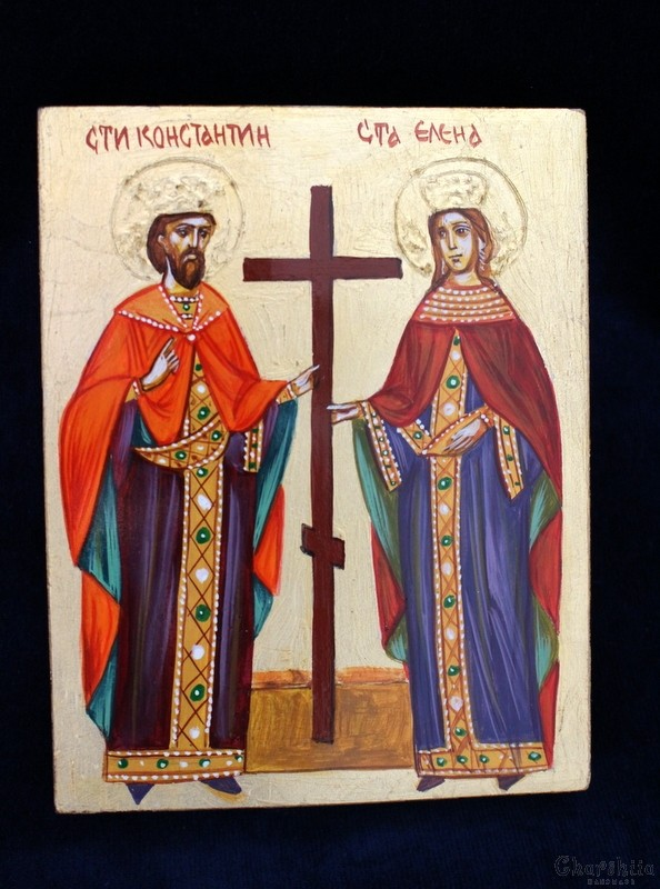 Icon image St. Constantine and Elena