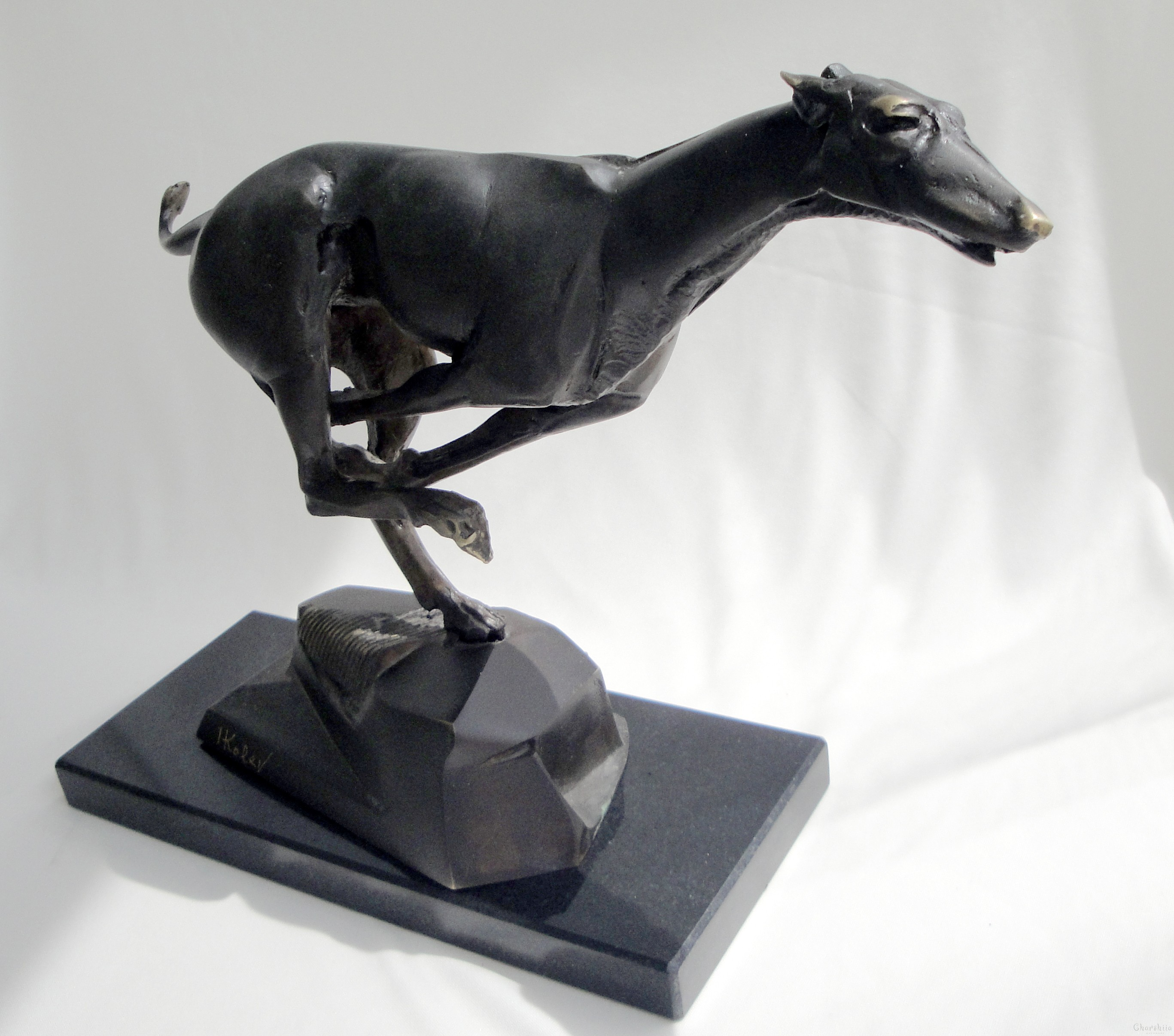"Brass art ""Dog"""