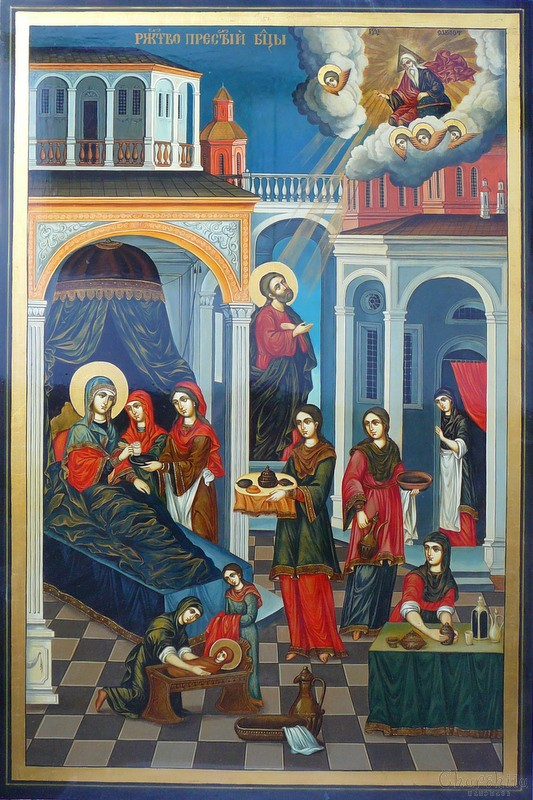"Icon ""Nativity of Virgin Mary"""