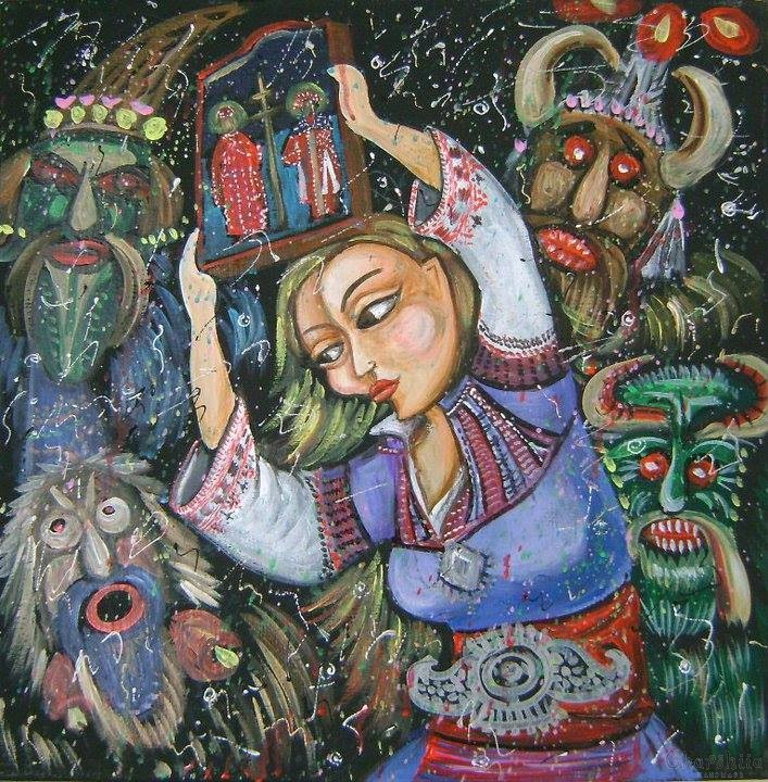 Fairytale picture ''Mummery''