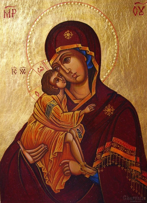 икона на Богородица Умиление-Елеуса