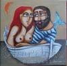 Painting ''Fisherman and mermaid'' 3