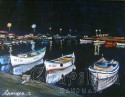 painting ''Night pier''