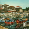 painting ''Summer pier''