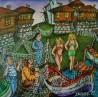 painting ''Dalyan Nessebar''