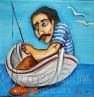 Painting ''Fisherman'' 6