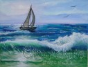 painting ''Sea sports''