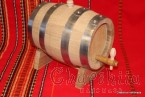 Natural White Oak Wood Barrel