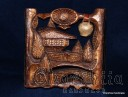 "Woodcarving ""Bulgarian house 2"""