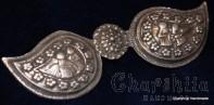 Children's metal belt buckle