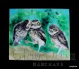 """Painting """"Owls"""""""