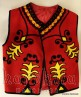 Men's vest with Bulgarian embroidery