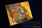 Batik Silk Painting ''Fish 1""