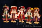 Traditional Bulgarian little rag doll